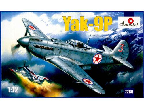 Amodel Yakovlev Yak-9P Soviet fighter 1:72 (7286)
