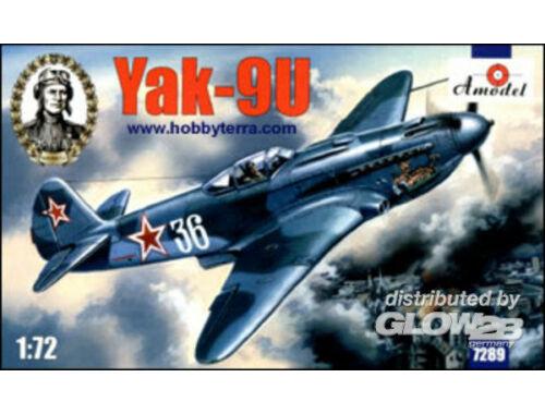 Amodel Yakovlev Yak-9U Soviet fighter 1:72 (7289)