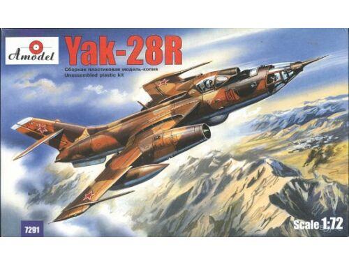 Amodel Yakovlev Yak-28R Soviet interceptor 1:72 (7291)