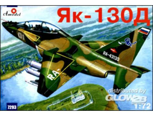 Amodel Yakovlev Yak-130D Russian modern trai.a. 1:72 (7293)