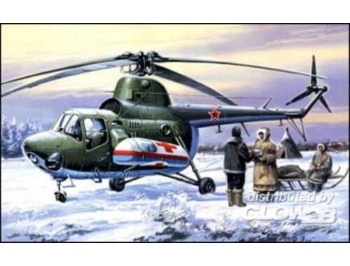 Amodel Mil Mi-3 ambulance 1:72 (7297)