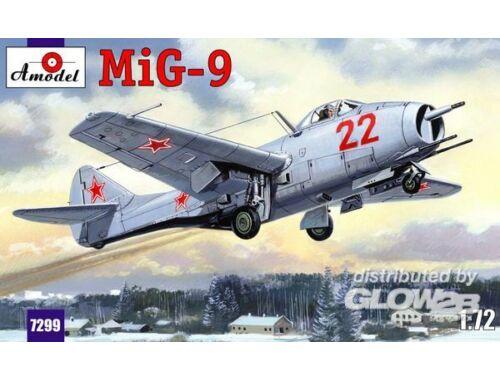 Amodel MiG-9 Soviet Fighter 1:72 (7299)