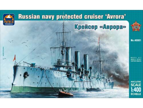 "ARK Model Russian navy protected cruiser ""Avrora"" 1:400 (40001)"