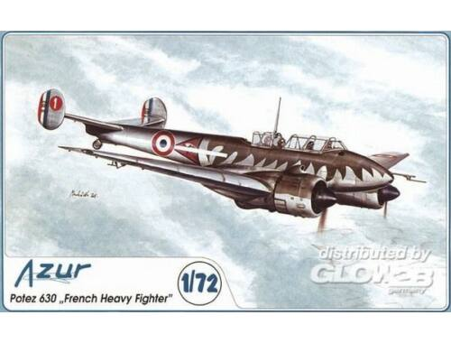 Azur Potez 630 French Heavy Fighter 1:72 (A036)