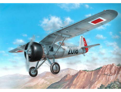 Azur PZL.24A/C Turkish AF 1:72 (A102)