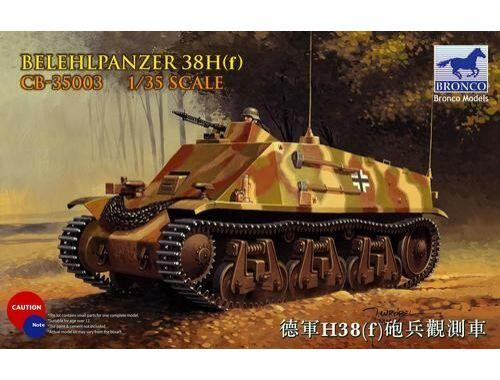 Bronco Befehlpanzer 38H(f) 1:35 (CB35003)