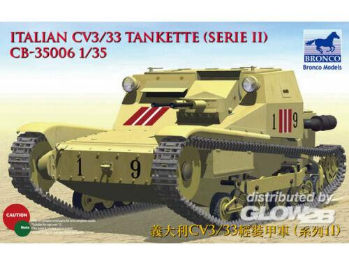 Bronco Italian CV L3/33 Tankette (Serie II) 1:35 (CB35006)