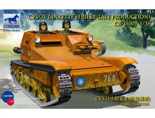 Bronco CV L3/35 Tankette Serie II 1:35 (CB35007)