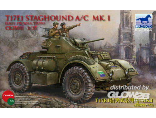Bronco T17E1 Staghound Mk.I Late Production 1:35 (CB35011)