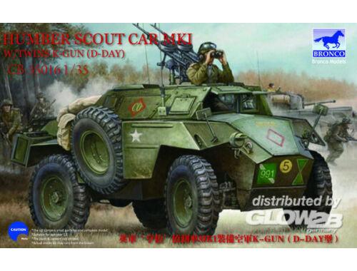Bronco Humber Scout Car Mk.I w/twin k-gun (D-day version) 1:35 (CB35016)