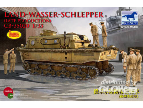Bronco Landwasserschlepper (late Production) 1:35 (CB35020)