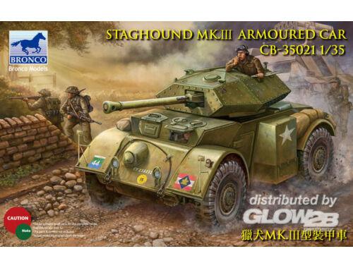 Bronco Staghound Mk.III 1:35 (CB35021)