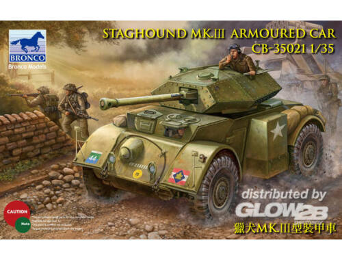 Bronco Staghound Mk.III 1:35 (CB35021)