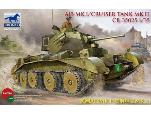 Bronco A13 Cruiser Tank Mk III 1:35 (CB35025)