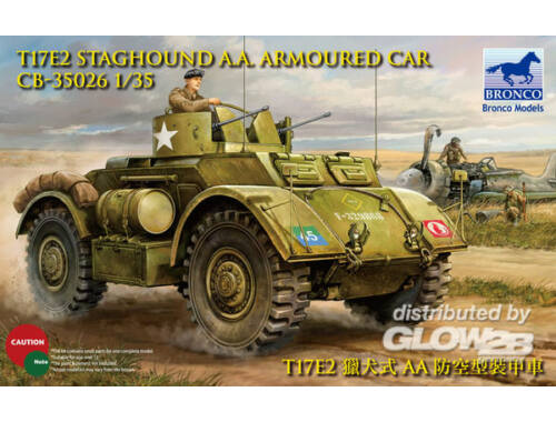 Bronco Staghound A.A. 1:35 (CB35026)