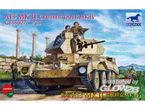 Bronco A13 Mk.I Cruiser Tank Mk. IV 1:35 (CB35027)