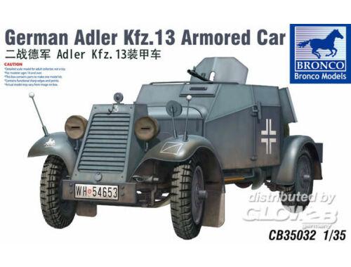 Bronco Adler Kfz.13 1:35 (CB35032)