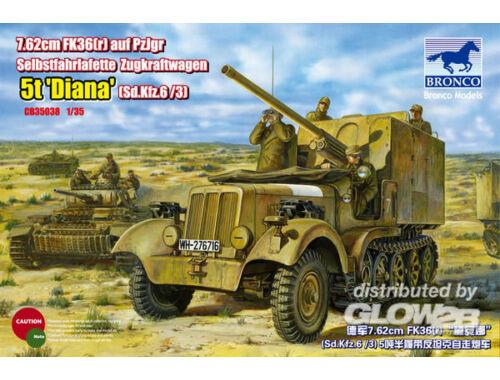 Bronco SdKfz 6(5t) Diana 1:35 (CB35038)