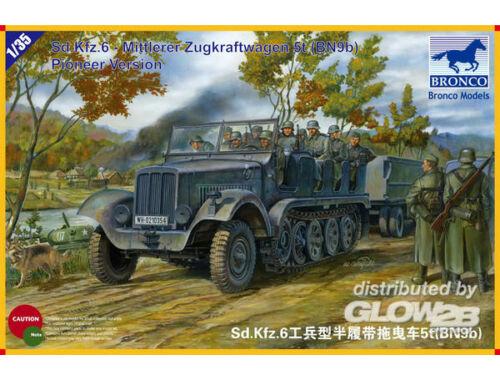 Bronco SdKfz.6 Mittlerer Zugkraftwagen 5t(BN9b) Pioneer Version 1:35 (CB35041)