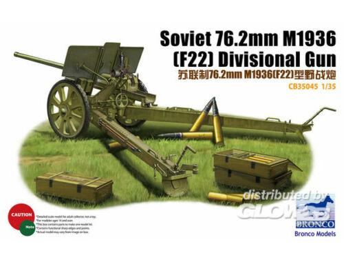 Bronco Soviet 78.2mm M1936 (F22) Divisional Gun 1:35 (CB35045)