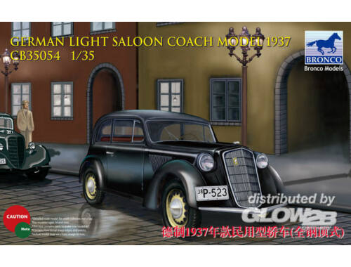 Bronco German Light Saloon Coach Mod.1937 1:35 (CB35054)