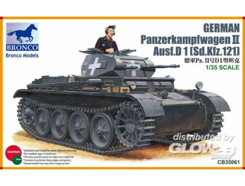 Bronco PanzerKampfwagen II Ausf D1 1:35 (CB35061)