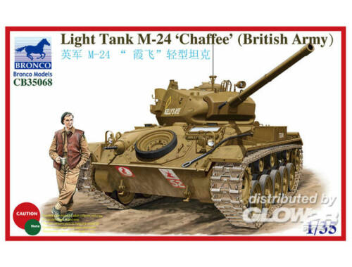 Bronco Light Tank M-24 Chaffee (British Version 1:35 (CB35068)