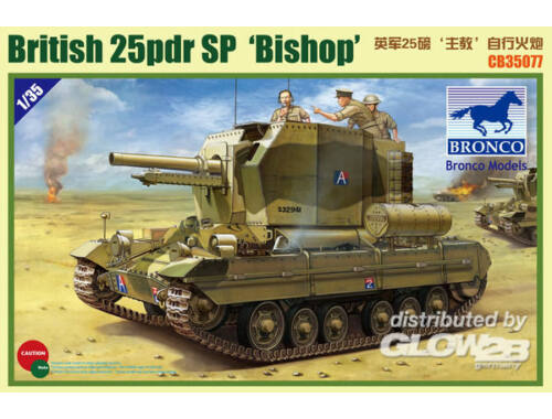 Bronco Valentine SPG Bishop 1:35 (CB35077)