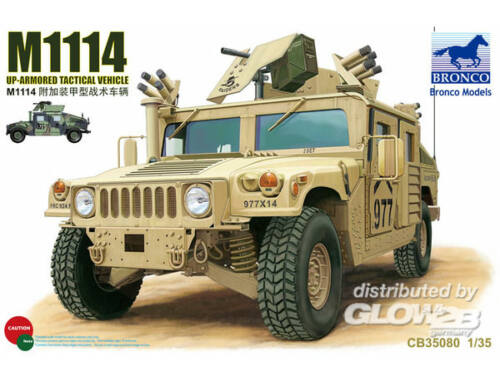 Bronco M1114 Up-Armored Tactical Vehicle 1:35 (CB35080)