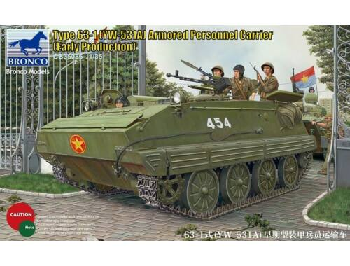 Bronco Type 63-1(YW-531A)Armored Peronnel Carri Early production 1:35 (CB35086)