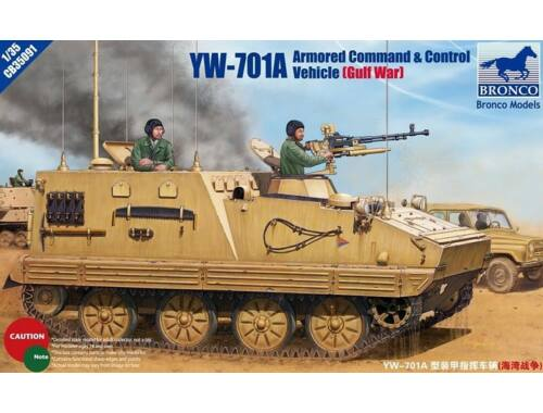 Bronco YW-701A Armored Command  Control Vehicle 1:35 (CB35091)