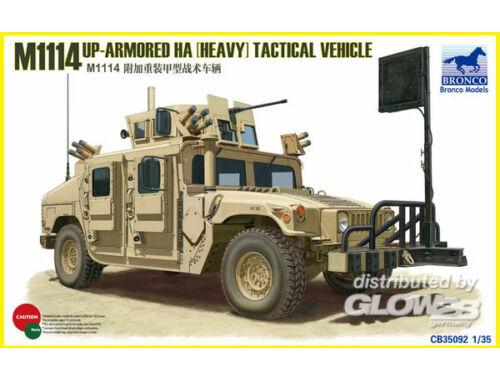 Bronco M1114 Up-Armoured HA(heavy)Tactical Vehi 1:35 (CB35092)