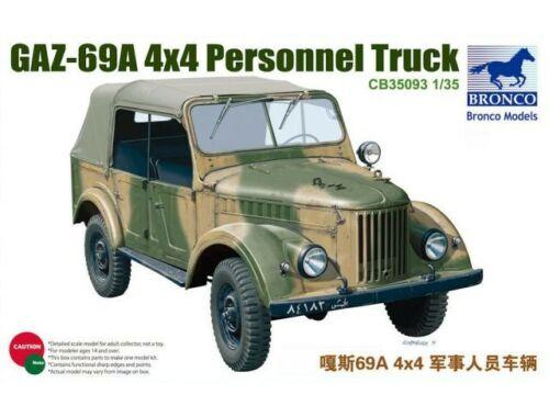 Bronco GAZ69A 1:35 (CB35093)
