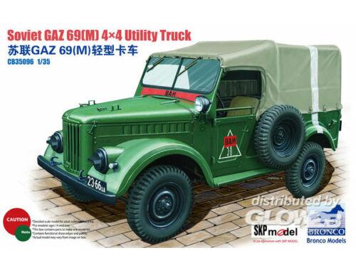 Bronco GAZ 69(M) 4x4 Utility Truck 1:35 (CB35096)