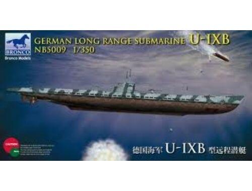 Bronco German Long Range Submarine Type U-IX B 1:350 (NB5009)