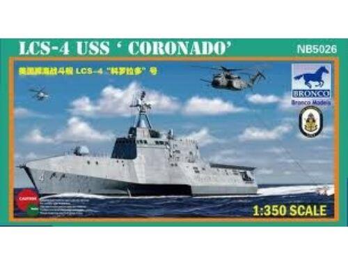 Bronco USS'Coronado'(LCS-4) 1:350 (NB5026)