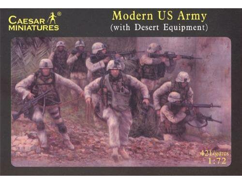 Caesar Modern US Army (with desert equipment) 1:72 (H030)