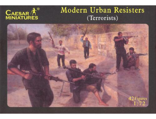 Caesar Modern Urban Resisters (Terrorists) 1:72 (H031)