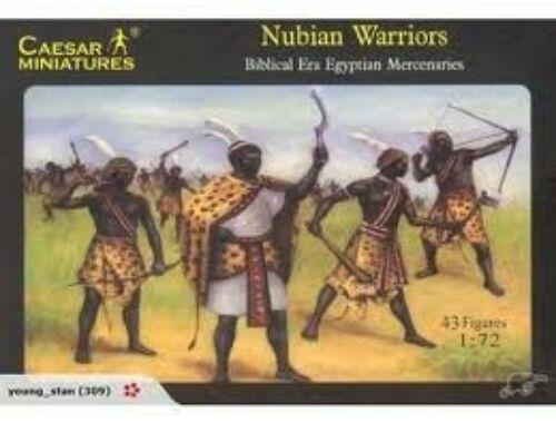 Caesar Nubian Warriors (Egypt Enemy or Alley) 1:72 (H049)