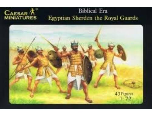 Caesar Egyptian Sherden the Royal Guard 1:72 (H050)