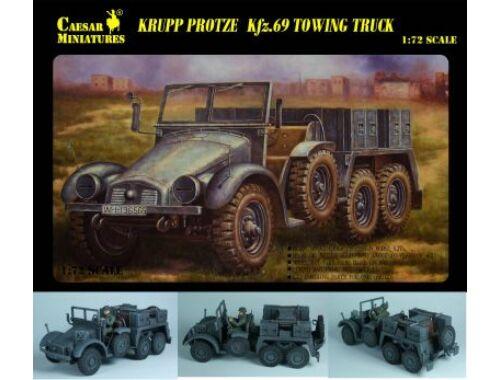 Caesar WWII German Sd. Kfz. 69 Towing Truck 1:72 (7203)