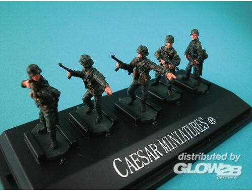 Caesar WWII German Panzergrenadiers set2 (fertig bemalt) 1:72 (P802)
