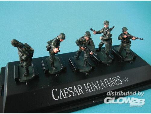 Caesar WWII German Panzergrenadiers set3 (fertig bemalt) 1:72 (P803)