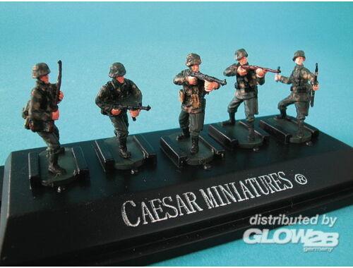 Caesar WWII German Panzergrenadiers set4 (fertig bemalt) 1:72 (P804)