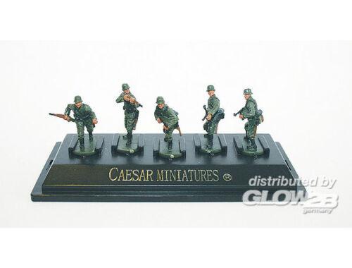 Caesar WWII German Army set1 (fertig bemalt) 1:72 (P806)