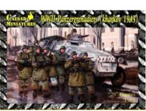 Caesar WWII Panzergrenadiers, Kharkov 1943 1:72 (HB01)