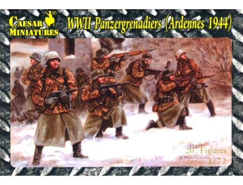 Caesar WWII Panzergeradiers, Western Front '44 1:72 (HB02)