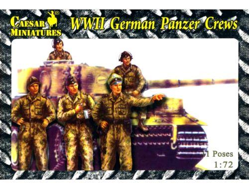 Caesar WWII German Panzer Crews 1:72 (HB03)