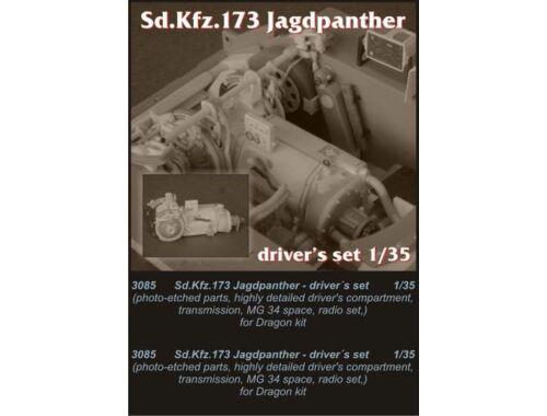 CMK Sd.Kfz.173 Jagdpanther-driver set for Drag. 1:35 (3085)