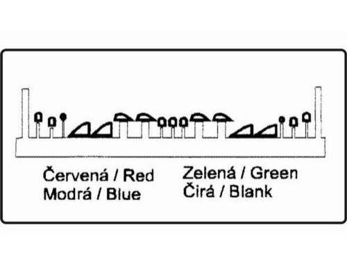 CMK Navigation Lights - clear, red, blue, green 1:72 (7031)
